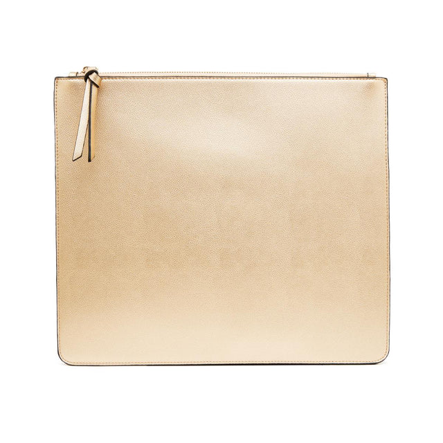 Nica Large Slim Purse Gold