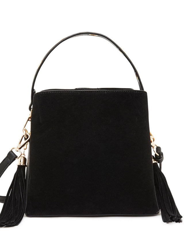 Billie Cross Body Bucket Black