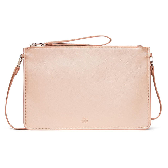 Ivy Zip Purse Rose Gold