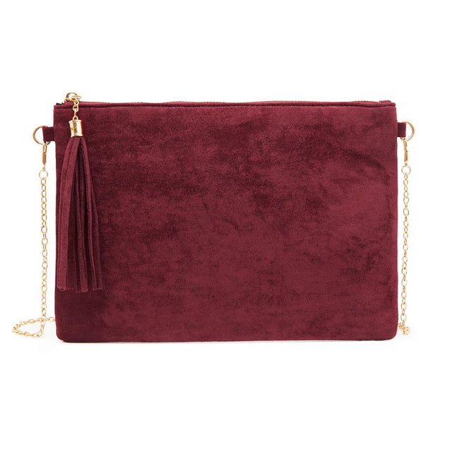 Tara Slim Purse Berry