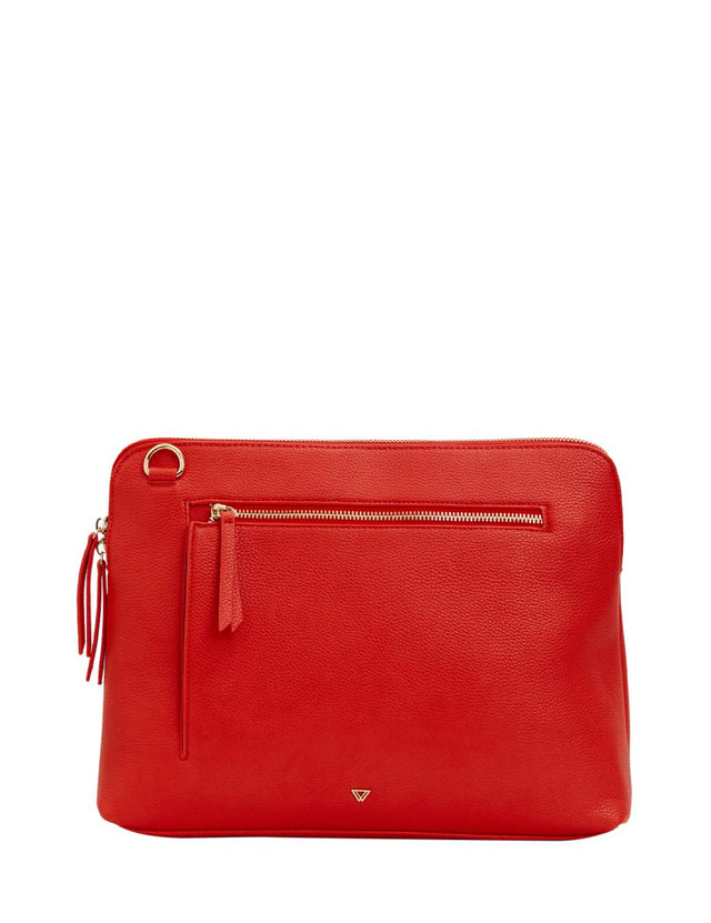 Thea Cross Body Tech Red
