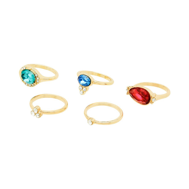Magnolia Assorted Stackable Ring Multi