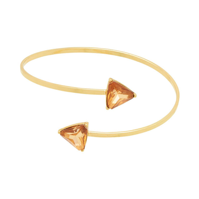 Eilana Arrow Cuff Gold