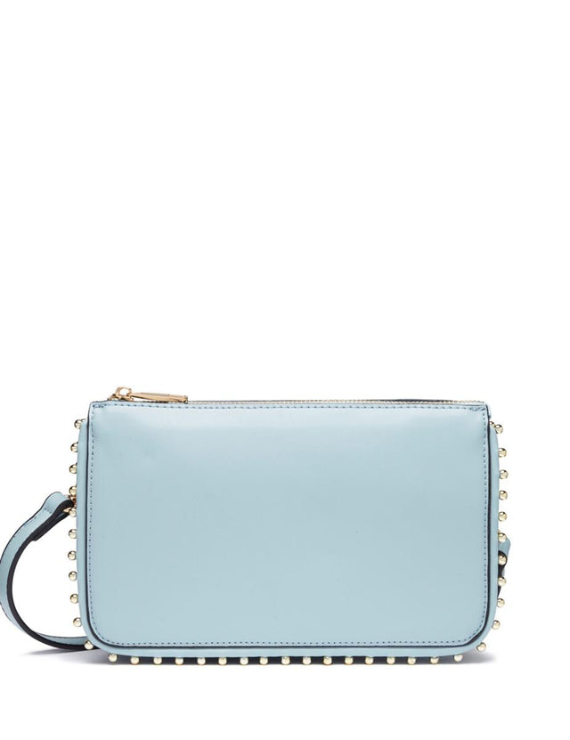 Isla Stud Clutch Blue