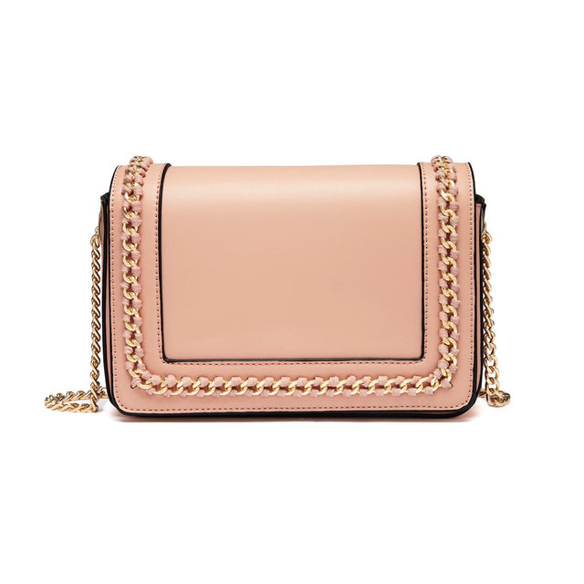 Holly Chain Cross Body Pink