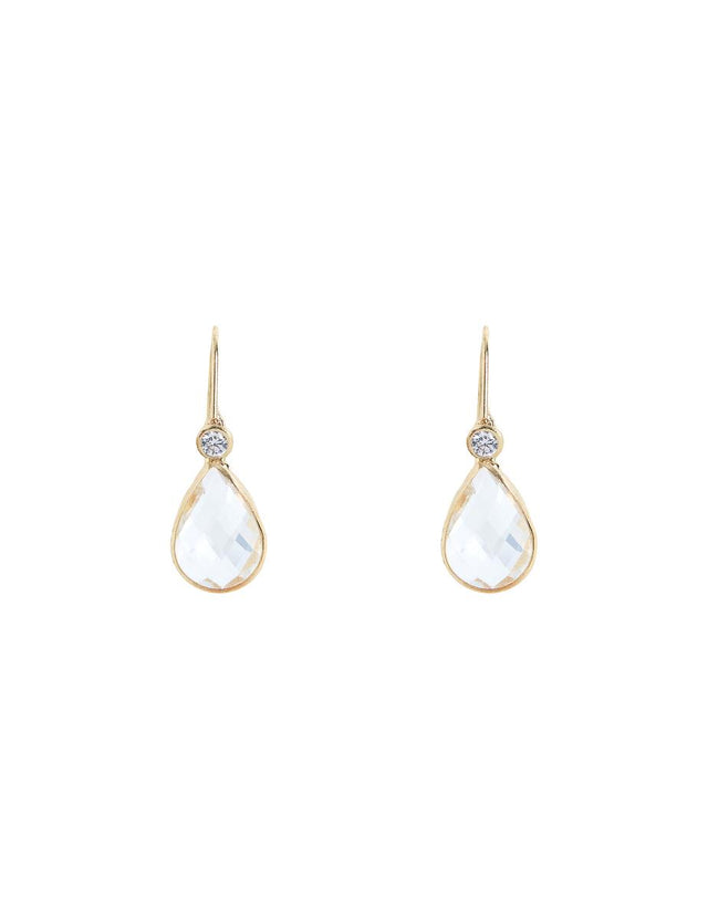 Toni Tear Drop Crystal