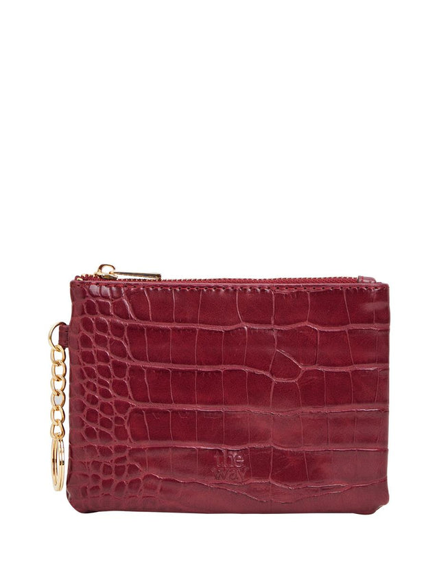 Britta Zip Wallet Berry