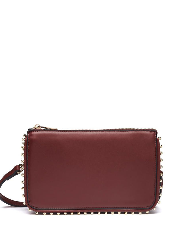 Isla Stud Clutch Berry