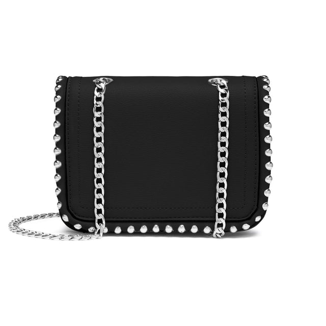 Kaia Stud Crossbody Bag - Black