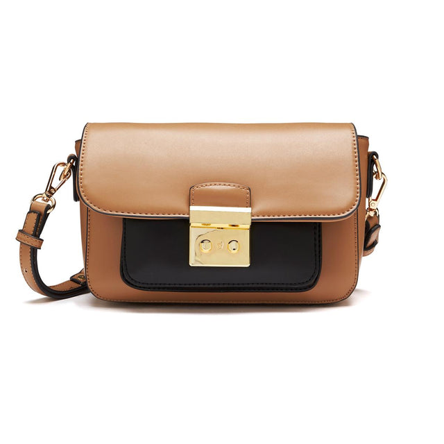 Abigail Satchel Cross Body Brown