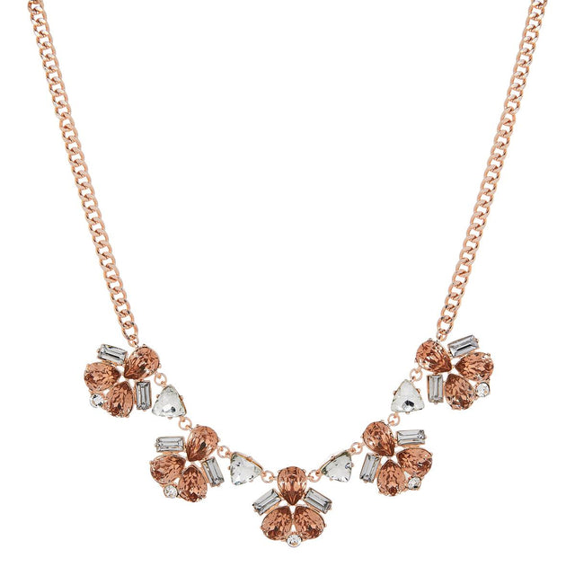 Bridget Long Necklace crystal