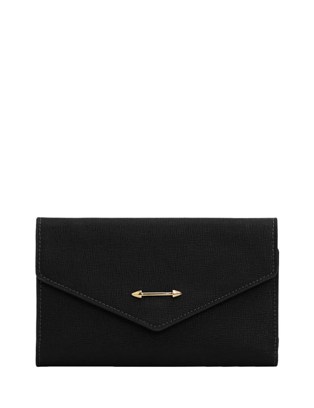 Scout Cross Body Wallet Black