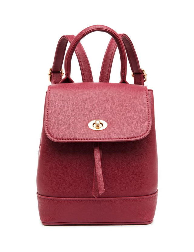 Skylar Mini Backpack Berry