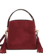 Billie Cross Body Bucket Berry