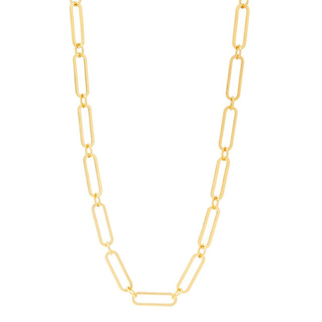 Hailey Chain Choker Gold