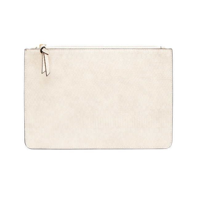 Nica Medium Slim Purse Beige