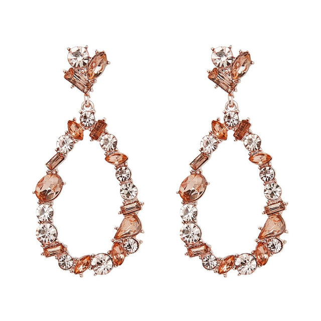 Florence Drop Earring Rose Gold