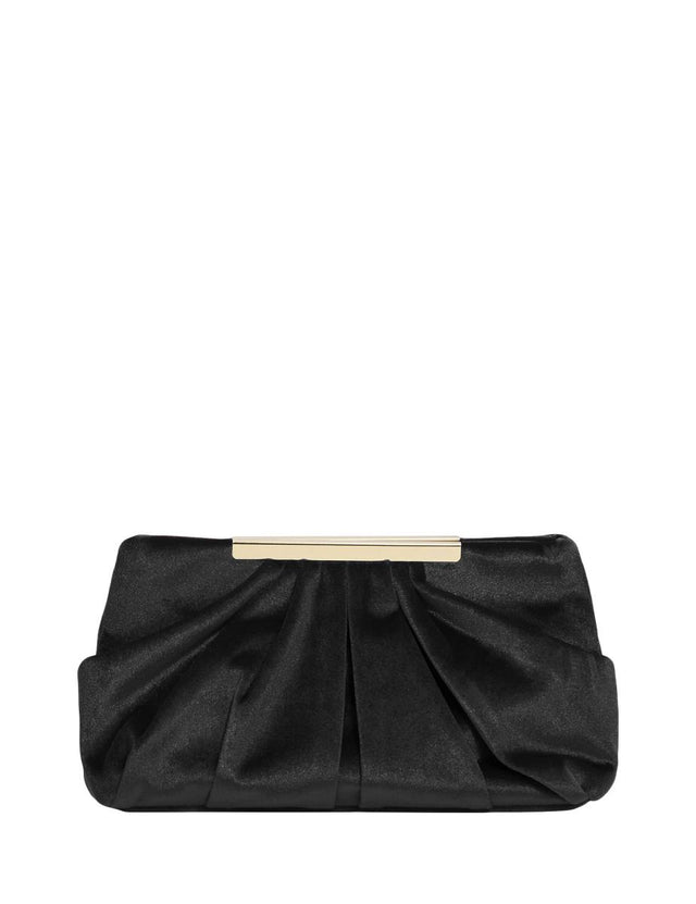 Eliza Soft Clutch Black