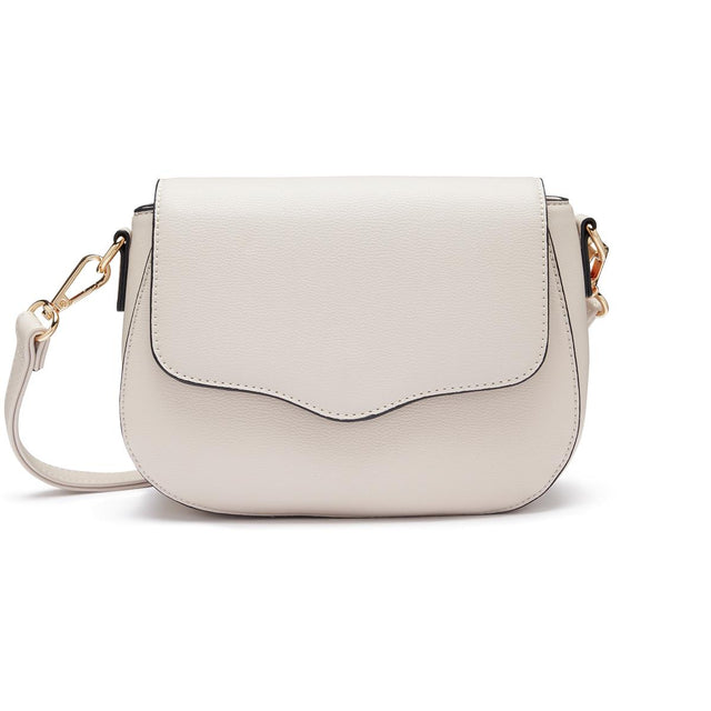 Annie Saddle Cross Body Grey