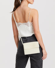 Donna Bead Cross body Ivory