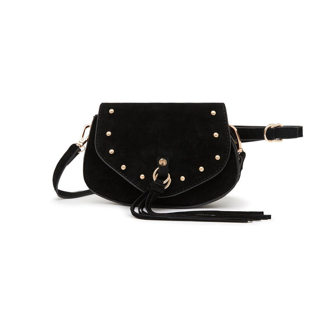 Dolly Saddle Cross Body Black