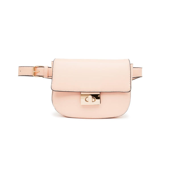 Juliana Cross Body Belt Bag Pink