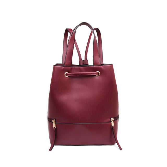 Hailey Convertible Backpack Berry