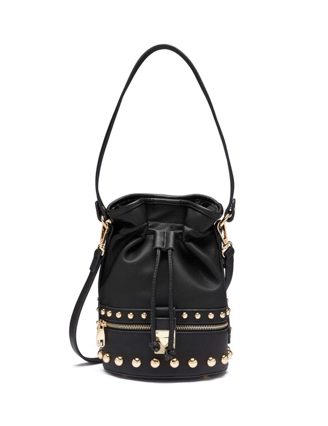 Amber Drawstring Bucket Black