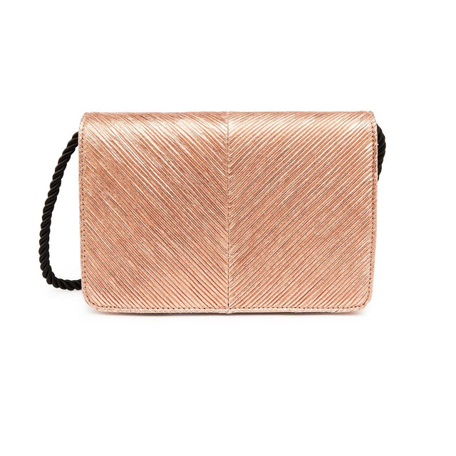 Cindy Cross Body Clutch Rose Gold
