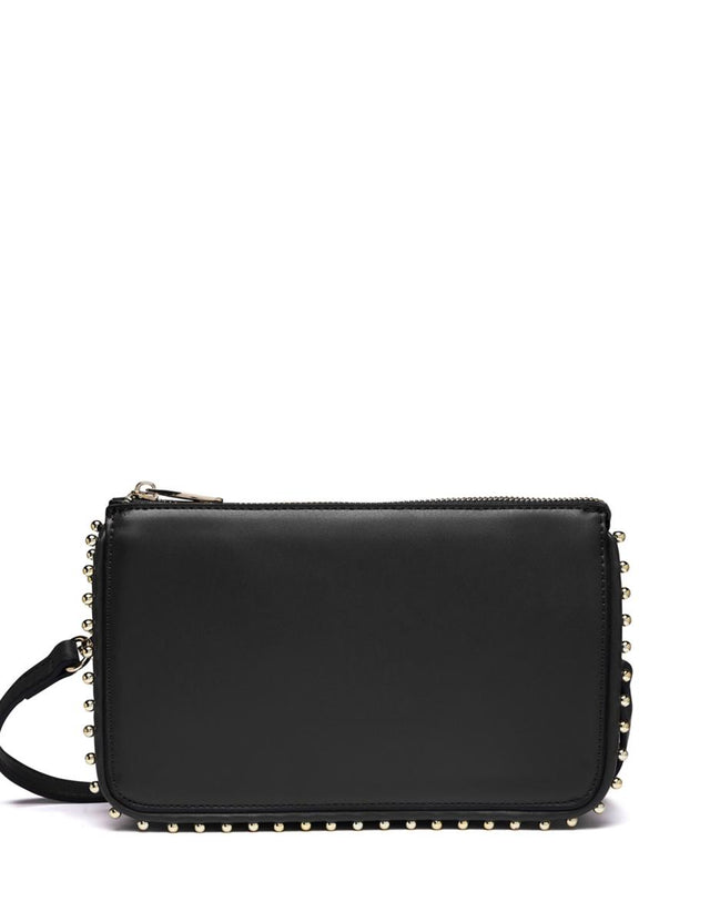 Isla Stud Clutch Black