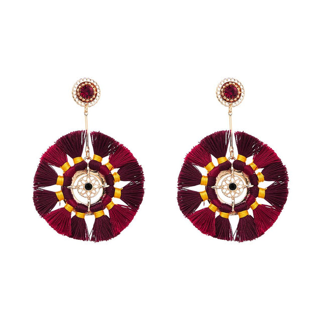 Lorelei Tassel Drop Berry