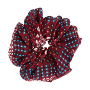 Karen Large Scrunchie Berry Print
