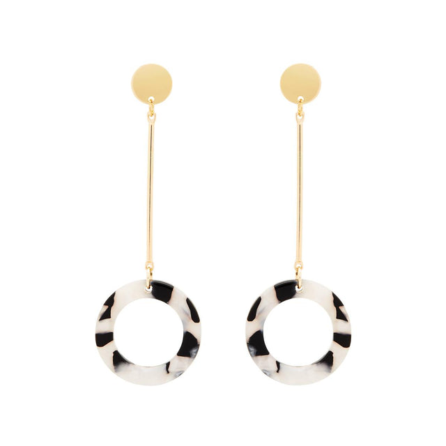 Elba Hoop Drop Black