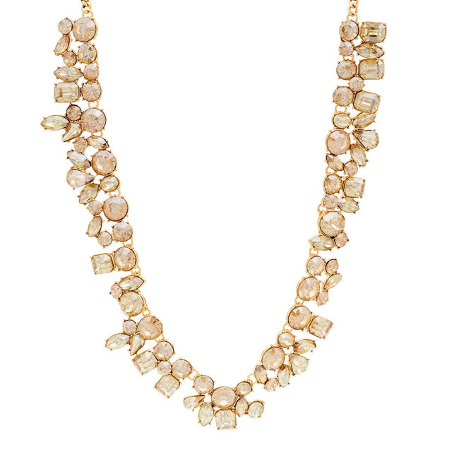 Nova Statement Short Necklace Golden Shadow