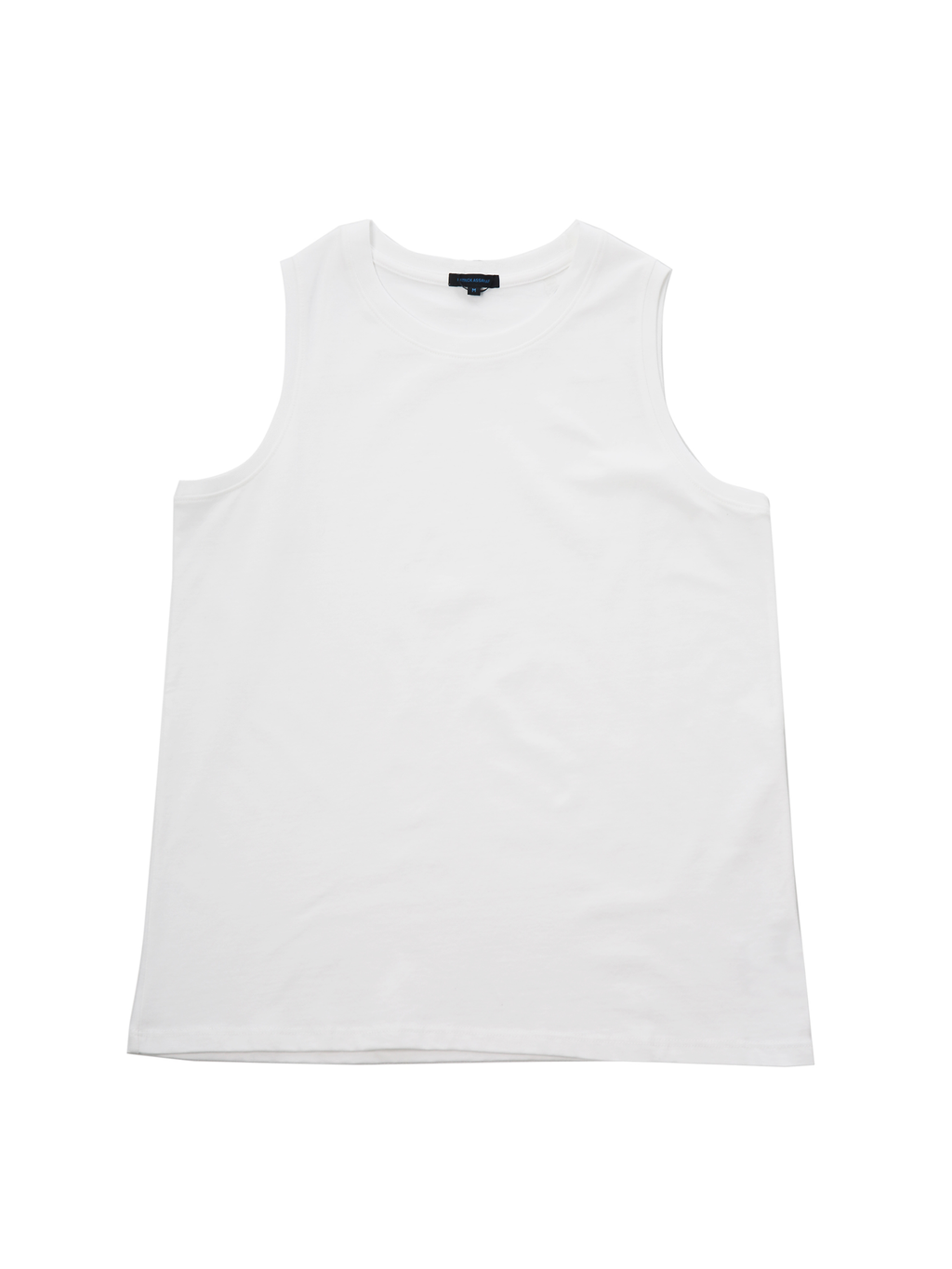 Patrick Assaraf Pima Cotton Stretch Tank