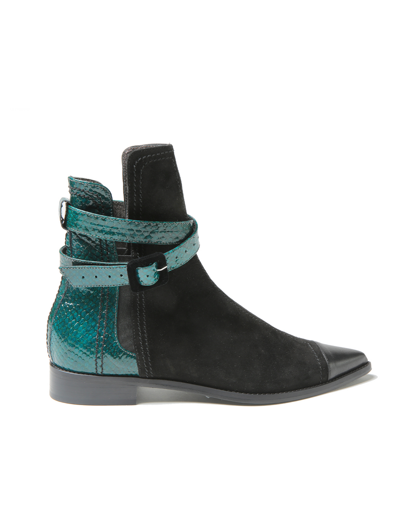 Dorothee Schumacher Patched Perfection Bootie