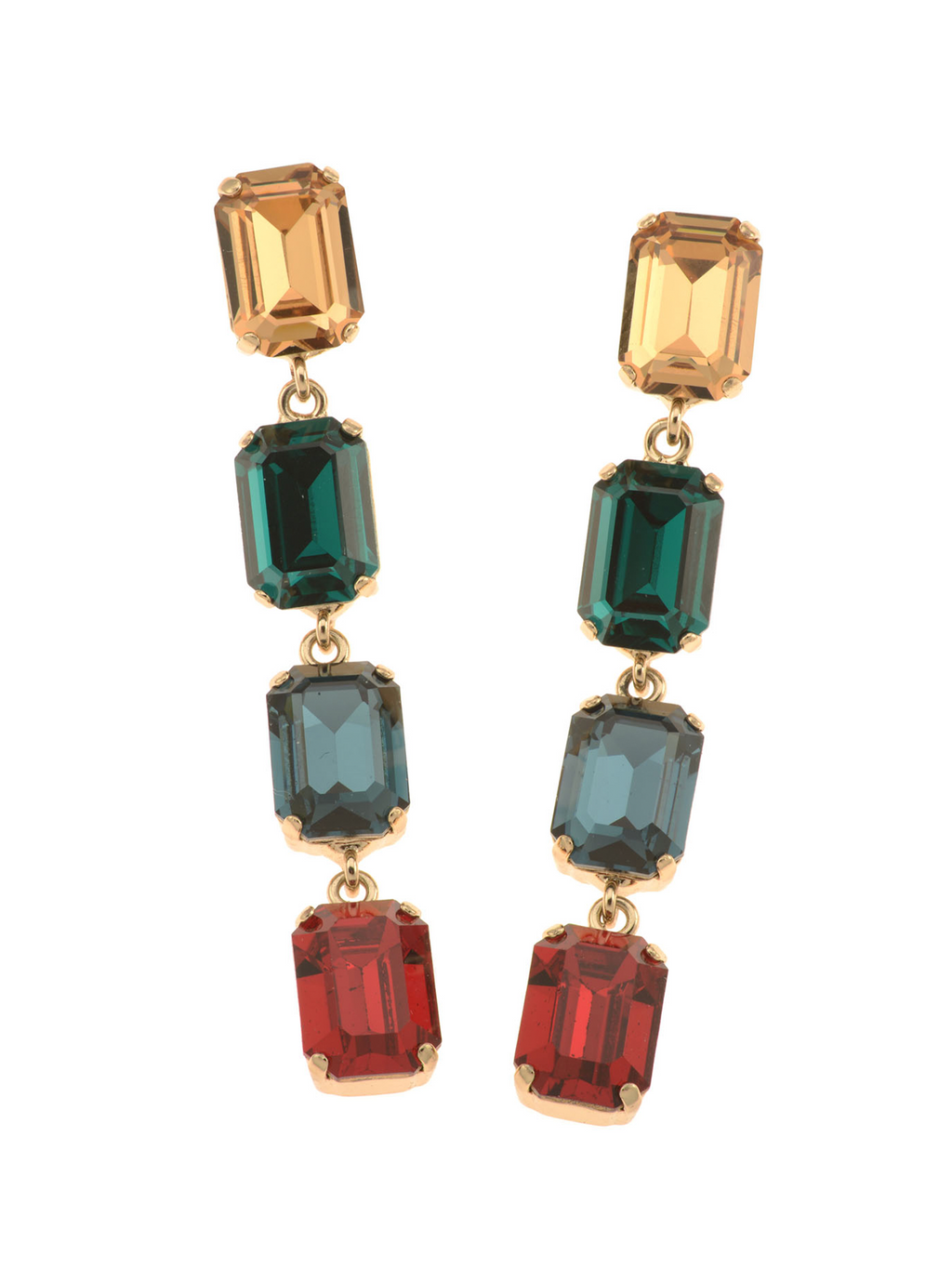Rebekah Price Emily Earrings - Gold