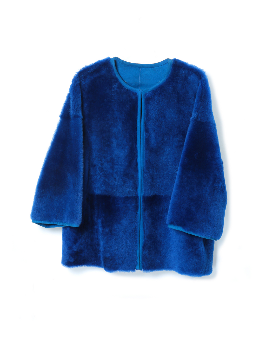 Reversible Shearling Jacket Merinillo Suede
