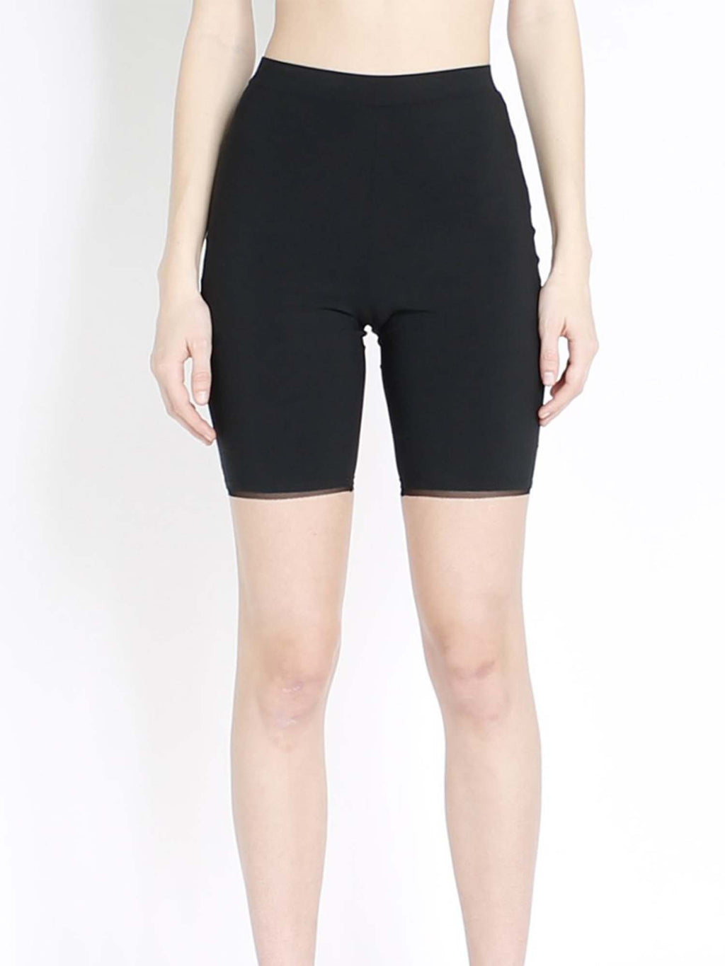 Marie Saint Pierre Coal Biker Shorts