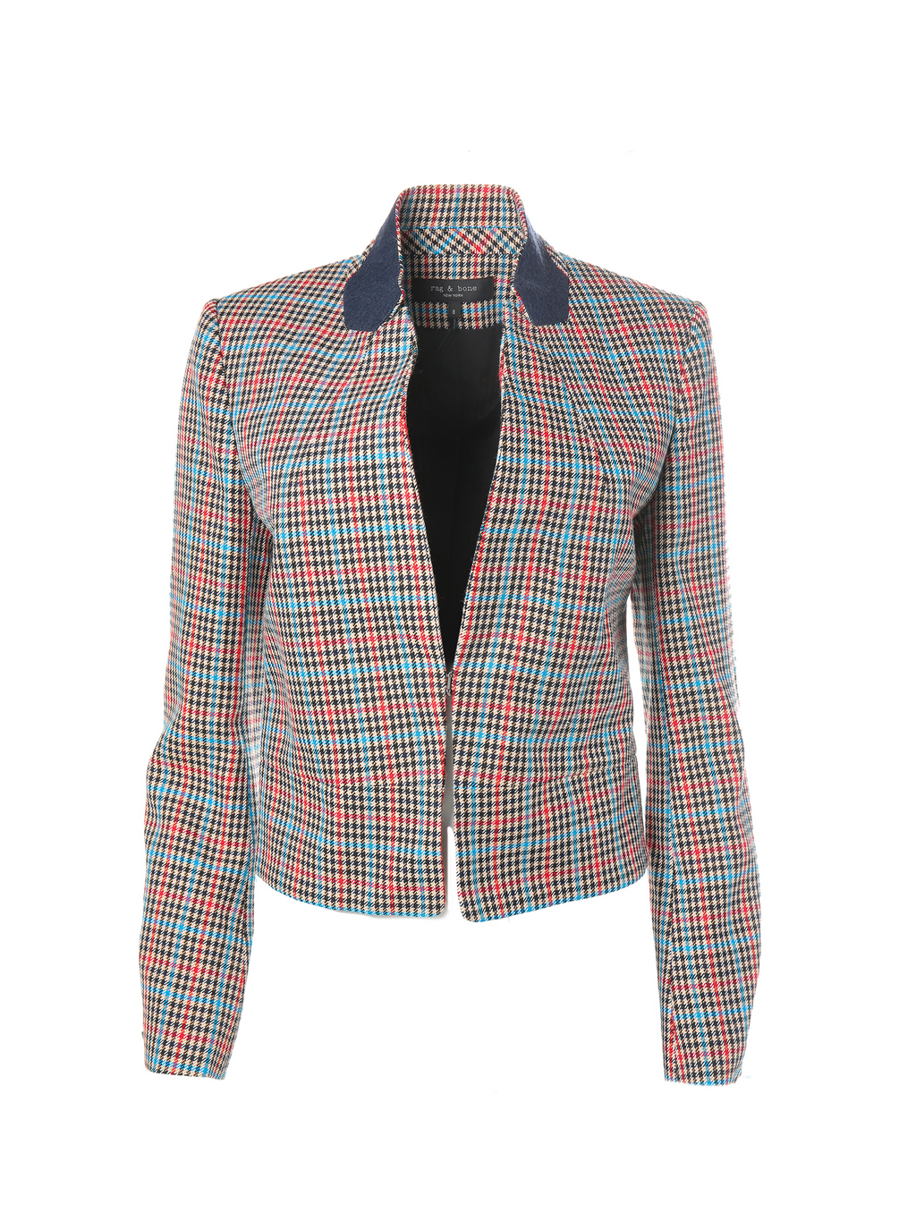Rag & Bone Elliot Plaid Wool Blazer