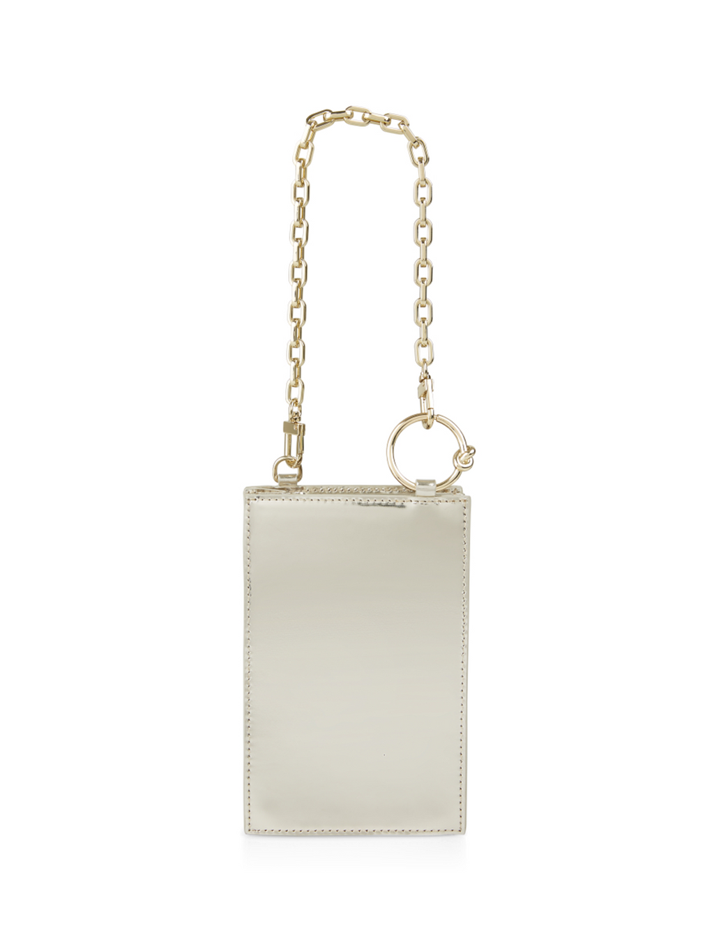 Marc Cain Small Metallic Shoulder Bag with Chain Details - Pre-Order