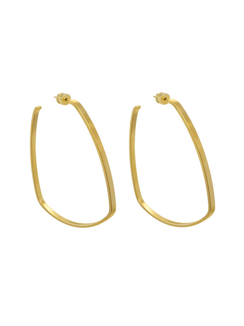 Dean Davidson Large Square Hoops