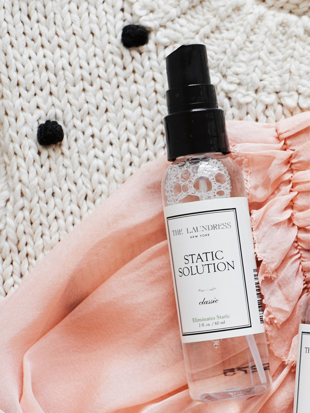 The Laundress Static Solution Spray - Classic 2 fl oz