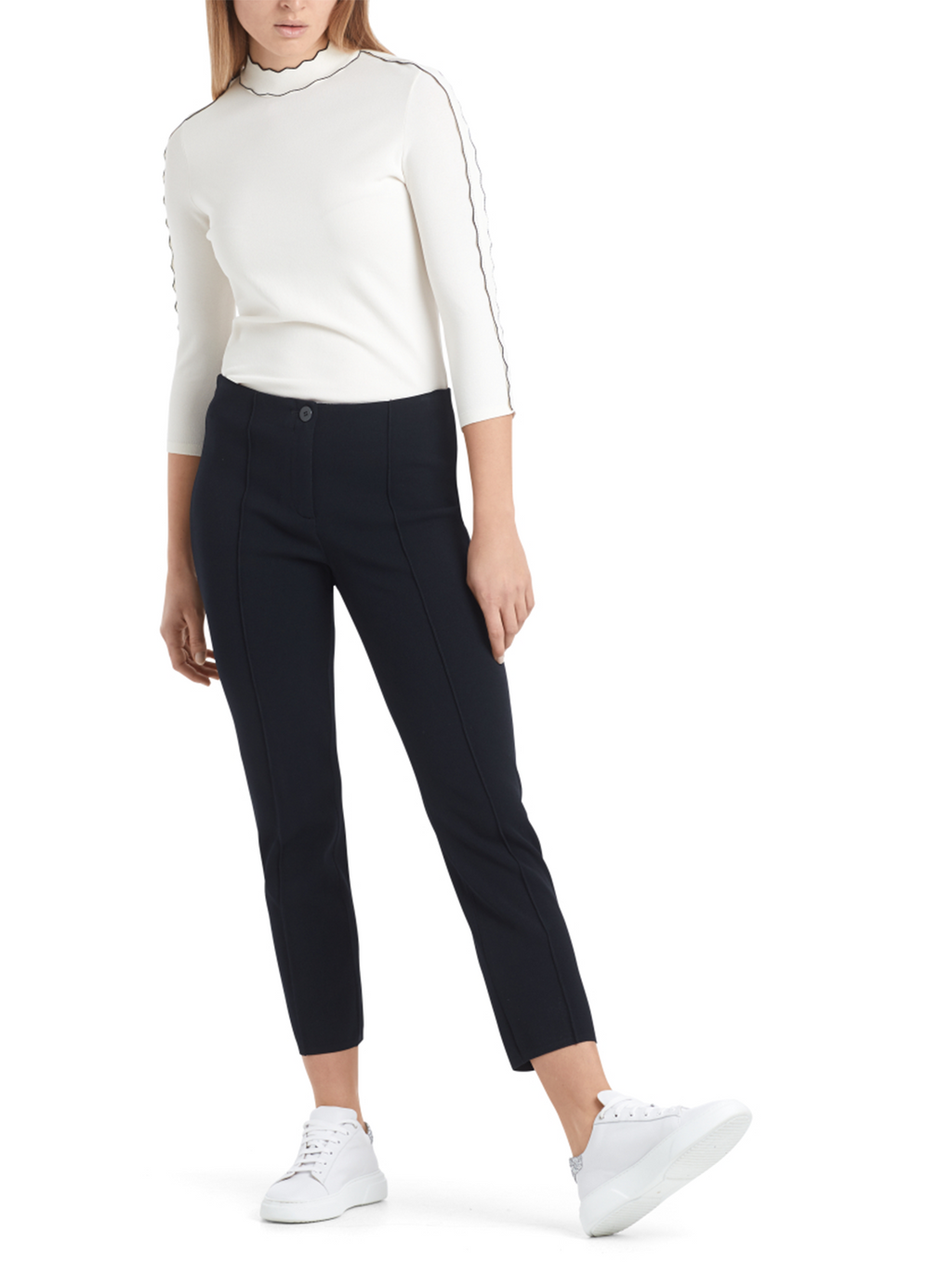 Marc Cain Slim Fitting Pants