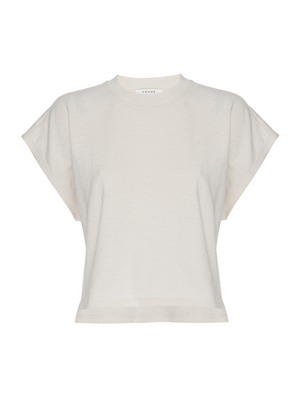 Frame Off Duty Tee Whisper White