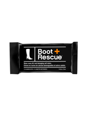 Boot Rescue All-Natural Boot Cleaning Wipes - Resealable Pack of 15