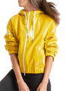 Marc Cain Sport Patent Leather Look Jacket - Dijon