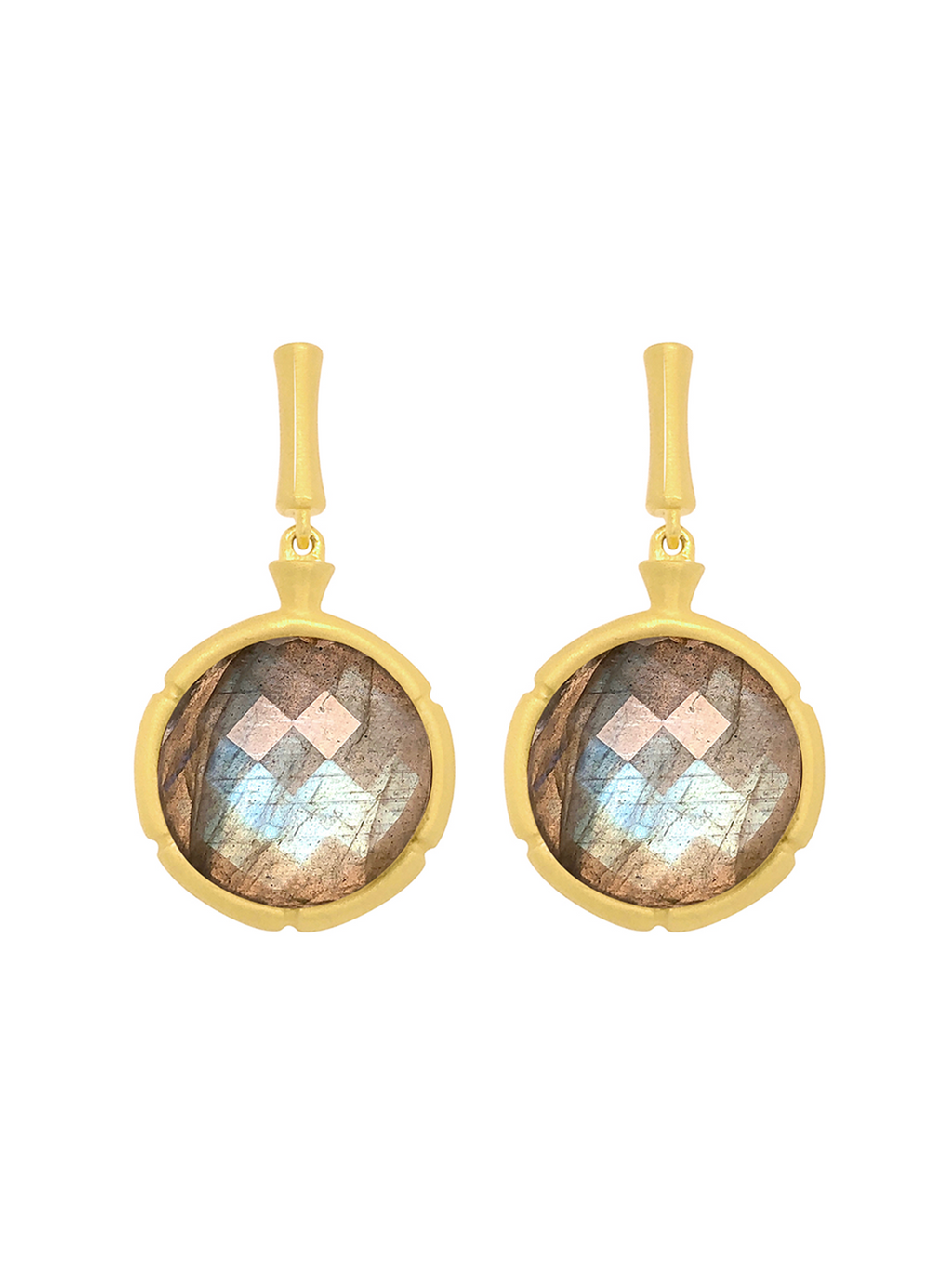 Dean Davidson Bamboo Gemstone Drop Earrings