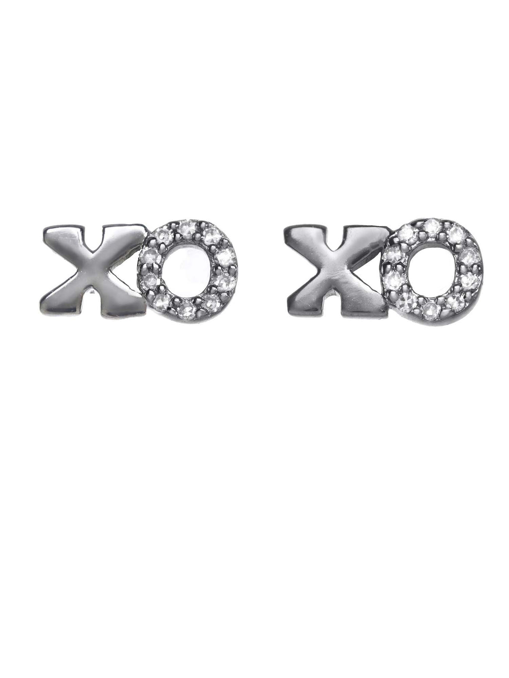 Margo Morrison Small XO Diamond Earrings