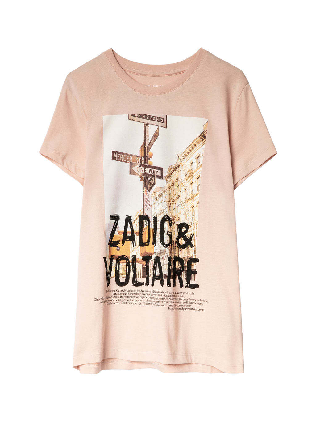 Zadig & Voltaire Photoprint T-Shirt